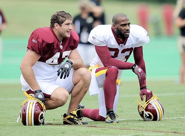 Chris Cooley, DeAngelo Hall